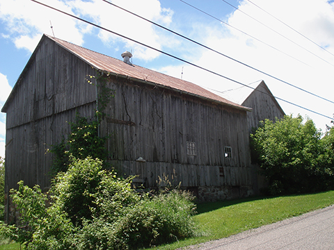 Our old barn, c1906; a testament to the hard work, determination and strength of  the many Canadians that helped lay the foundation for our great country.