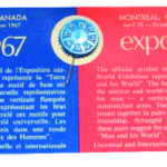 Official symbol pin for Expo 67 held in Montreal, Quebec