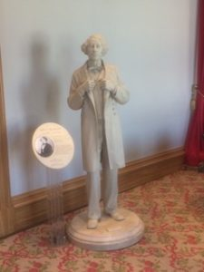 A statue of John A. Macdonald in Province House
