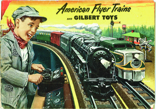 Above: a sample of well-known Lionel trains and image