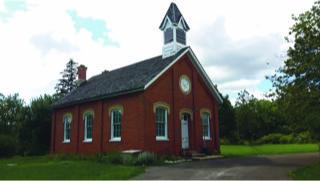 The Old Britannia Schoolhouse c1876 ~ photo by Douglas Phillips