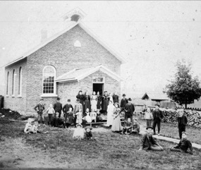 Spencer Schoolhouse c1877, closed 1965