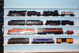 A selection of popular Lionel trains