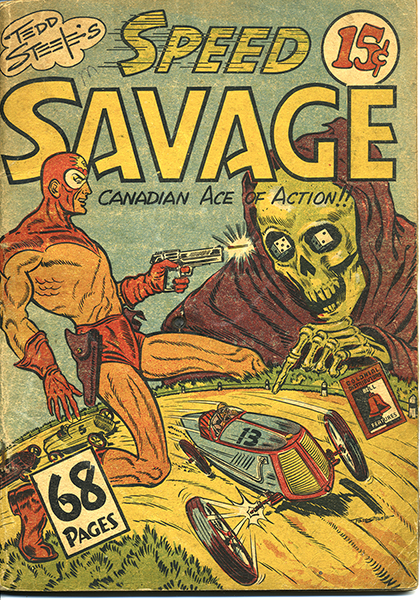 Canadian Speed Savage by Toronto-born artist Ted Steele