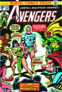 Avengers 123: first Mantis
