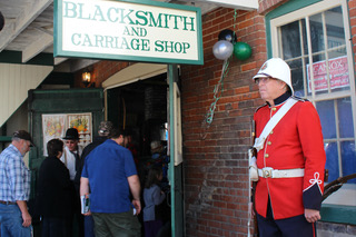 The Cannington and District Historical Society opened to the public for the first time in perhaps 50 years, celebrated Culture Days on Sept. 30 by welcoming visitors to its new museum, the Blacksmith and Carriage Shop at 21 Laidlaw St. S.