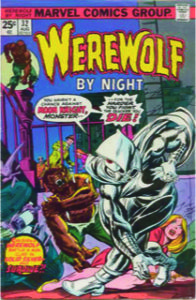 Werewolf By Night 32, the first appearance of Moon Knight