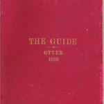 Figure 1. A third edition (1889) copy of Otter's The Guide, A Manual for the Canadian Militia. (From the Larry Mohring collection.)