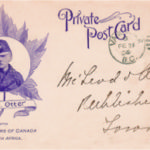 Figure 2. Lt.-Col. Otter is shown on this rare circa 1900 South African War postcard by Toronto's W. J. Gage & Co