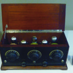 A 1924-25 era, battery-powered Freshman Masterpiece radio that brought $20 at auction