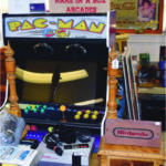 Offered by Name in a Box is this Pac Man electronic game in excellent working condition. It sold on open day for $1200. The vintage Nintendo game was priced at $90.