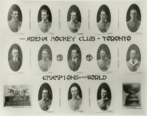 The Toronto Arenas (precursor of the Maple Leafs) won the NHL championship and Stanley Cup in their inaugural 1917-18 season.