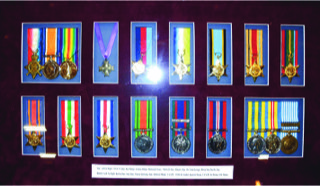 Canadian Medal Collection from WWI to Korea, includes scarce WW2 Air Crew Europe Star. Andy Traverse Tel: 905 627 0213