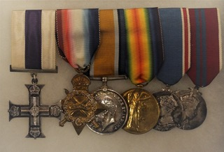 Military Cross awarded to Lt  M G  Anderson 20th Bat  Central