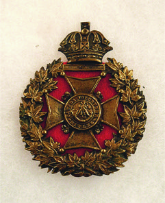 Canadian Volunteer Rifles Cap - Badge c1840 - Chris Palmer (contact Wayback Times for info)