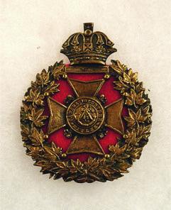 Canadian Volunteer Rifles Cap - Badge c1840 - Chris Palmer (contact Wayback Times for info)
