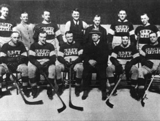 The 1921-22 NHL and Stanley Cup champion Toronto St. Patricks.